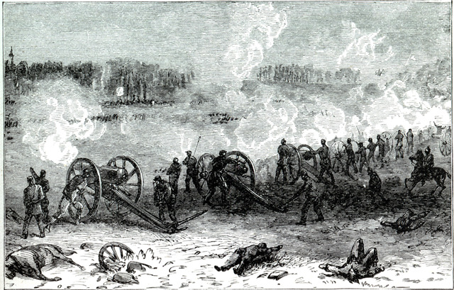 The Battle of Cold Harbor.