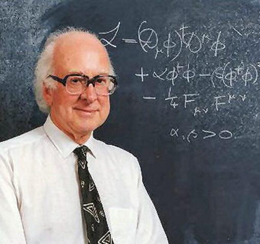 Peter Higgs. Bosón de Higgs