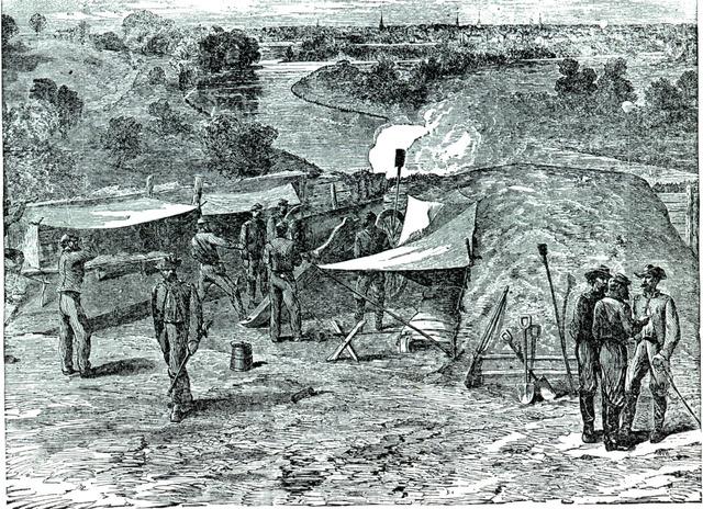 The Siege of Petersburg.