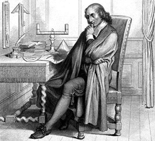Blaise Pascal. Principio de Pascal