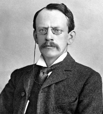 Primeros descubrimientos sobre la radioactividad - Joseph John Thomson