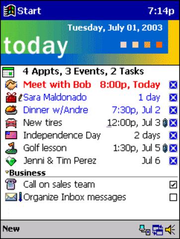 Pocket PC 2000 (PDA)(Microsoft)