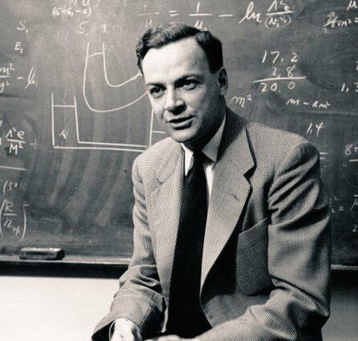 Richard Feynman. Desarrollo de la electrodinámica cuántica.