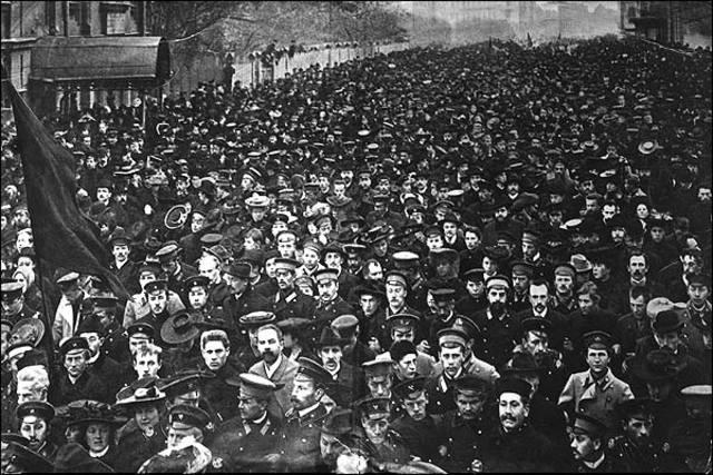 Manifestación de San Petersburgo.