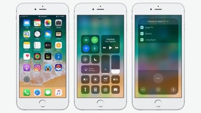 iOS 11 Acerca de las actualizaciones