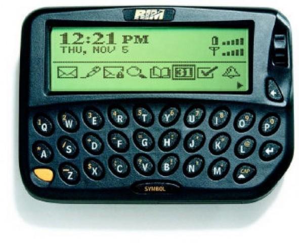 Primer Lanzamiento de BlackBerry RIM OS 1.0