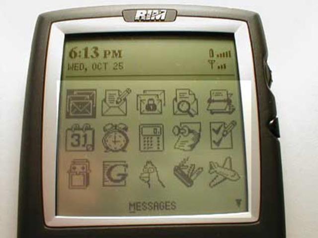 BlackBerry Una ligera evolución