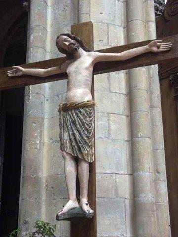 Crucifixión de la Catedral de San Ciro y Santa Julia