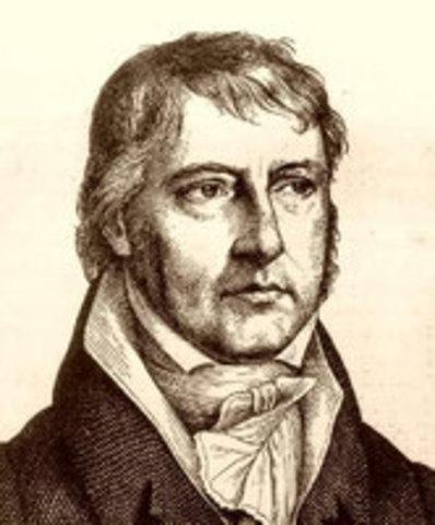 Georg Whilhelm Friedrich Hegel