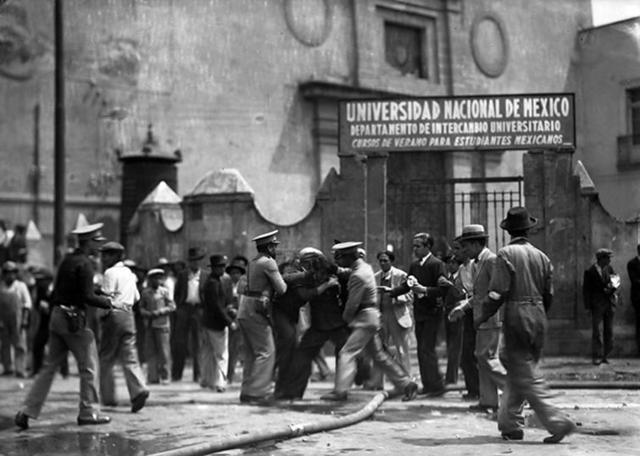 Autonomía otorgada a la Universidad Nacional de México (actualmente UNAM) [Cultural]