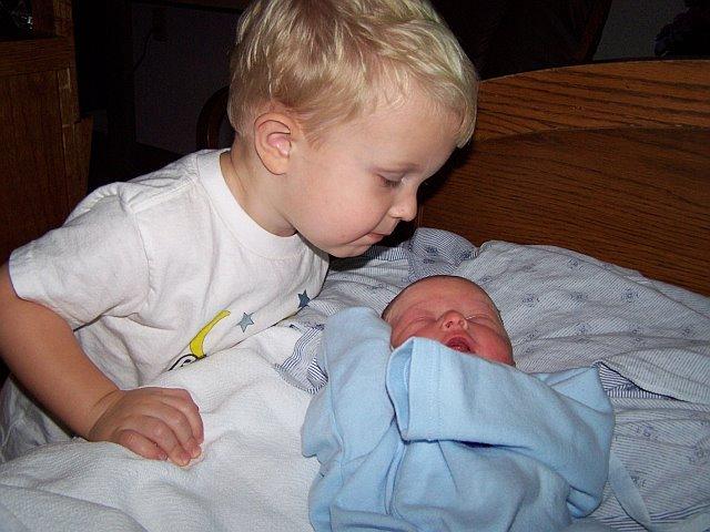 I became a big brother!