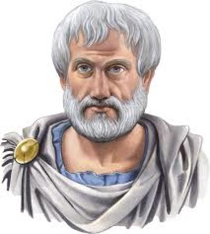 Ideas de movimiento de Aristoteles