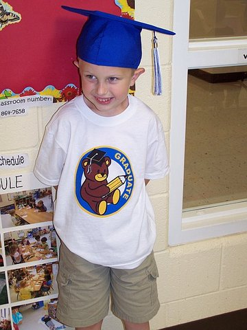 I graduated from Pre-K