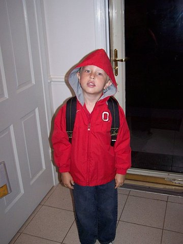 My first day at Dutrow Elementary!