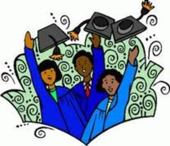 I finished my university education