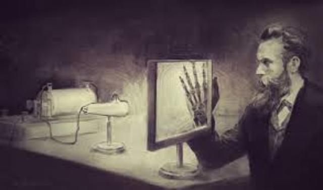 descubrimiento de rayos X