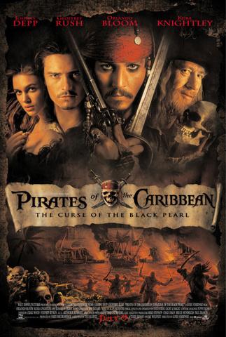 A Karib-tenger kalózai: A Fekete Gyöngy átka c.film főszerep