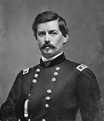 George B. McClellan nominated