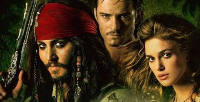 A Karib-tenger kalózai: Holtak kincse c.film főszerep