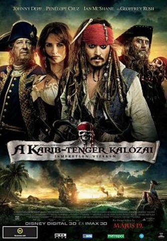 A Karib-tenger kalózai: A világ végén c.film főszerep