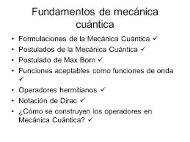 Se formulan nuevos fundamentos para la mecánica cuántica.