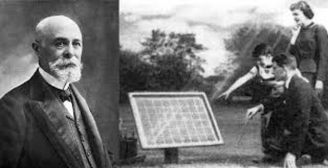 Se inventa la celda solar.