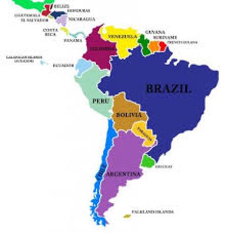 Latinamerikanske land. DEMOKRATI