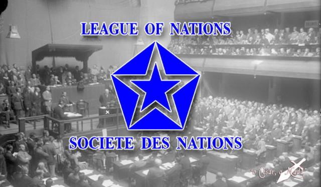 Sociedad de Naciones.