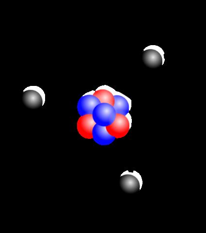Ernest Rutherford propone un modelo atómico donde existe un núcleo atómico cargado positivamente.