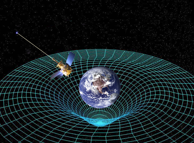 """Albert Einstein revolucionó la concepción del universo con la teoría de """"la relatividad""""."""