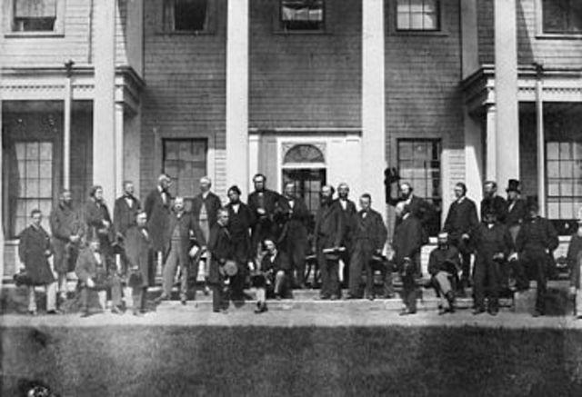 La Conference de Charlottetown - Île du Prince Edward