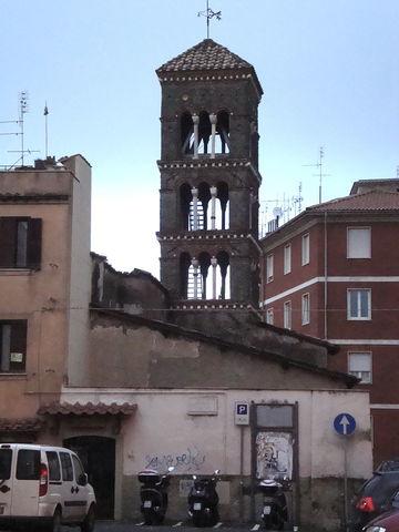 Frascati chiesa di Santa Maria in Vivario