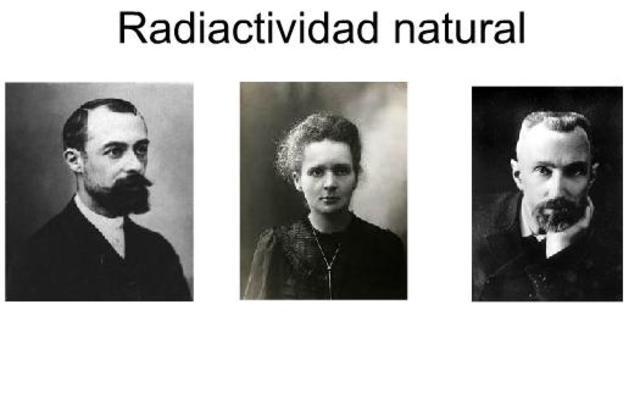 Se descubre la radioactividad y se aísla el radio