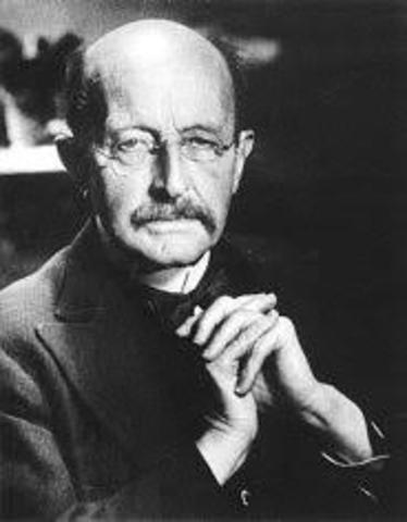 Max Planck propone el quantum de energía
