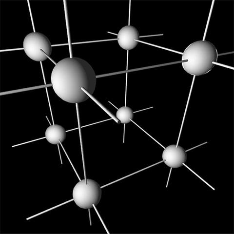 Se revela la estructura atómica de cristales.