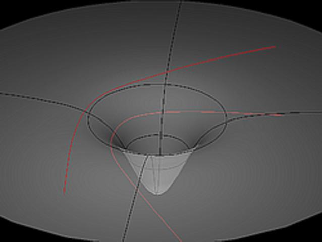 La teoría de la relatividad general reemplaza la ley de gravedad de Newton.
