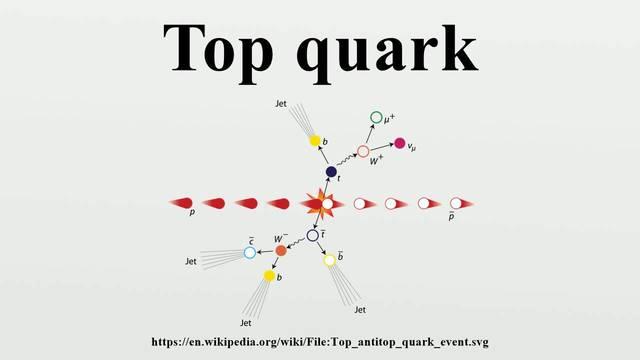 Se encuentra el quark top.