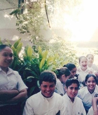 Grupo ganador Olimpiada del Conocimiento 2004