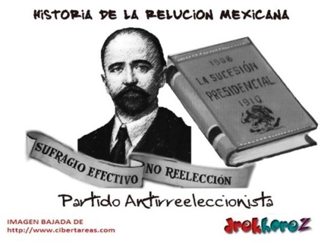 """Sufragio Efectivo, No Reelección""."