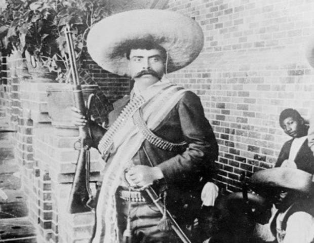 Emiliano Zapata se levanta en armas