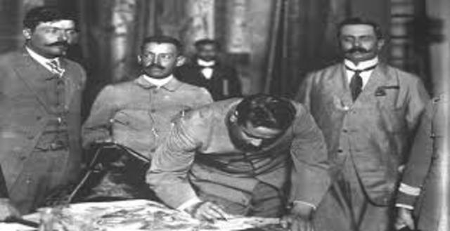 Francisco Villa y la División del Norte se unen a la revolución constitucionalista