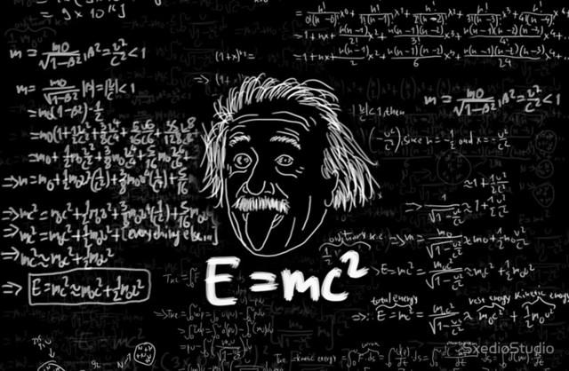 E = mc^2