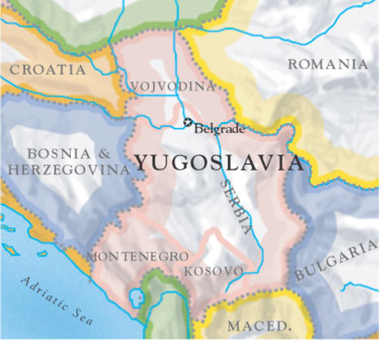 Republic of Macedonia is no longer with the Yugoslav Federation