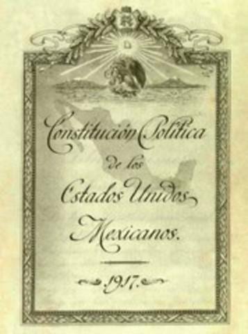 Se promulga la Constitución.