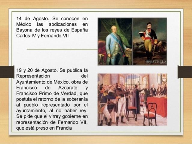 Representación del Ayuntamiento de México