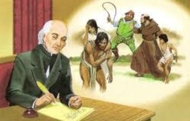 Decreto de la abolición de la esclavitud emitido por el padre Hidalgo.