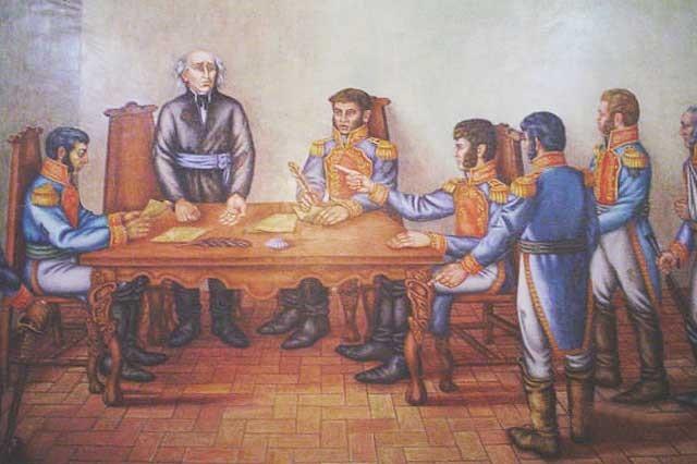 Hidalgo es despojado del mando militar, que recae en Allende.