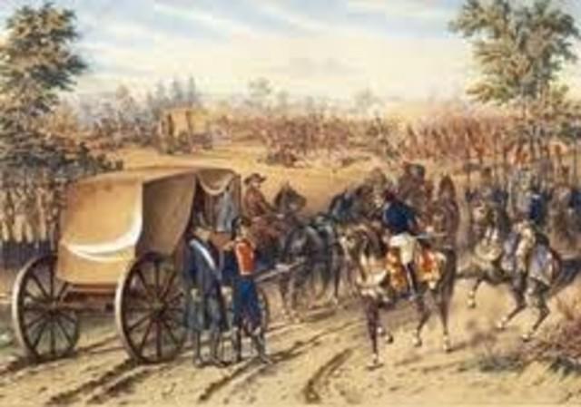 Hidalgo, Allende, Aldama, Jiménez y Abasolo son traicionados por Elizondo en las Norias de Baján y conducidos prisioneros a Monclova.
