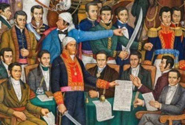 Se inaugura el Congreso de Chilpancingo y se leen los Sentimientos de la Nación escritos por Morelos.