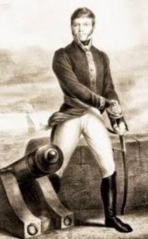 Xavier Mina desembarca en Soto la Marina y lanza un manifiesto contra la tiranía de Fernando VII.